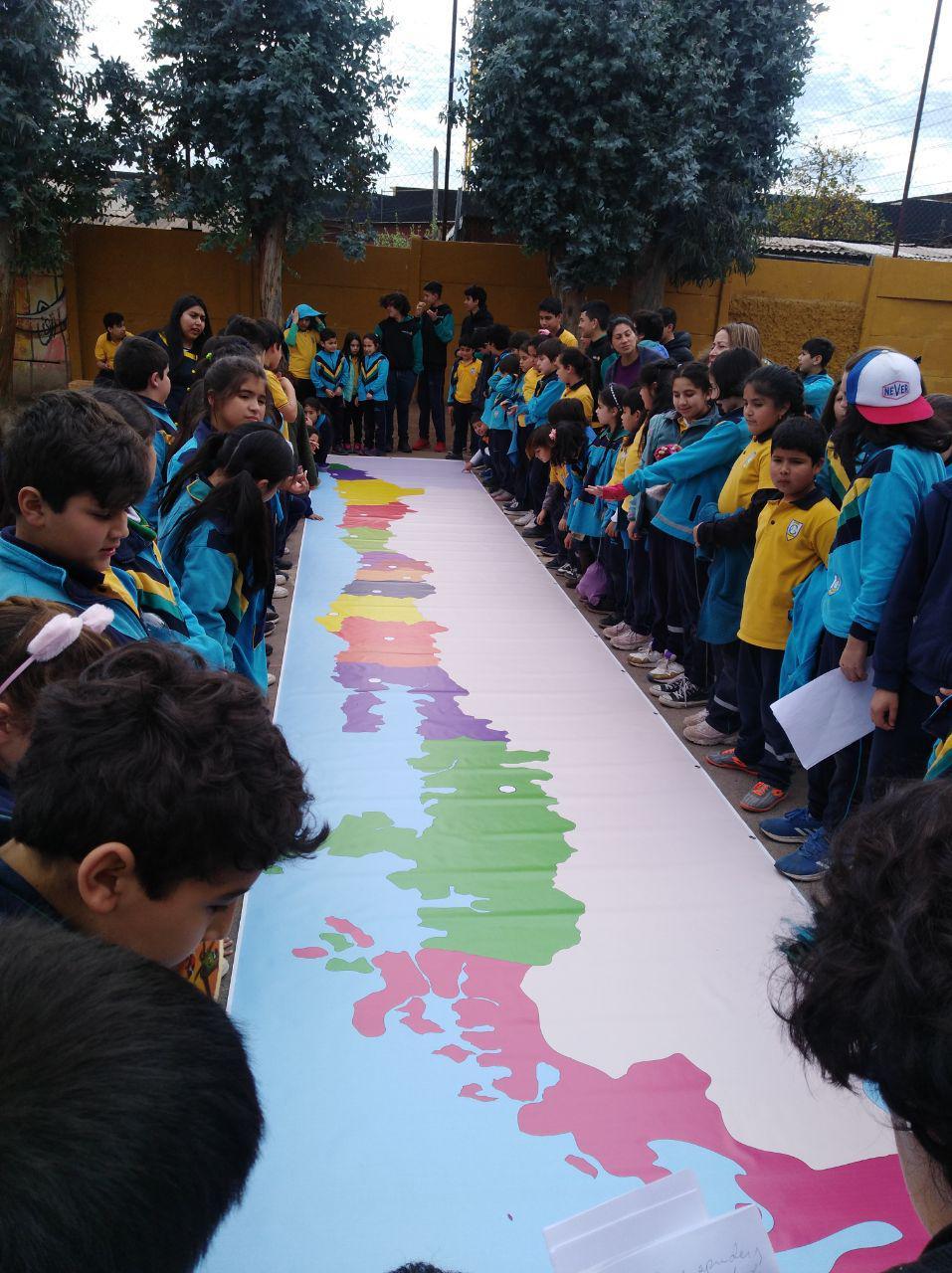 Presentación del Mapa de Chile