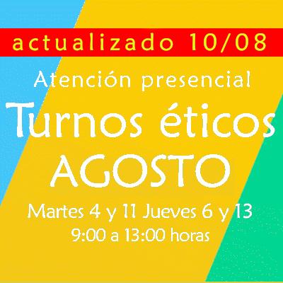 Informaciones Agosto 2020 – ACTUALIZADO